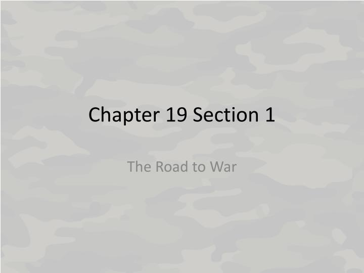 chapter 19 section 1 n.