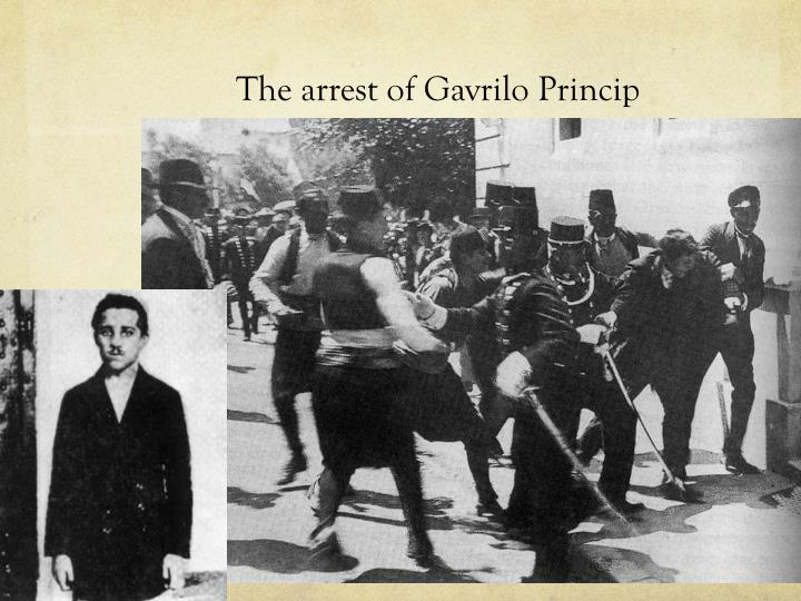 The arrest of