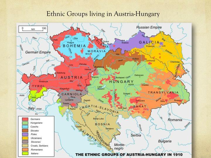 Ethnic Groups living in Austria-Hungary