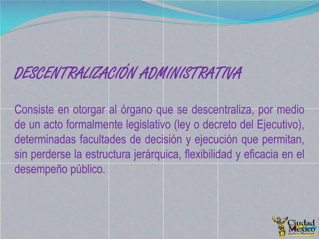 Ppt Administración Pública Del Distrito Federal Powerpoint