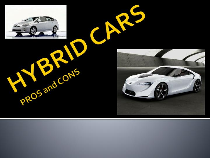 hybrid cars pros and cons n.