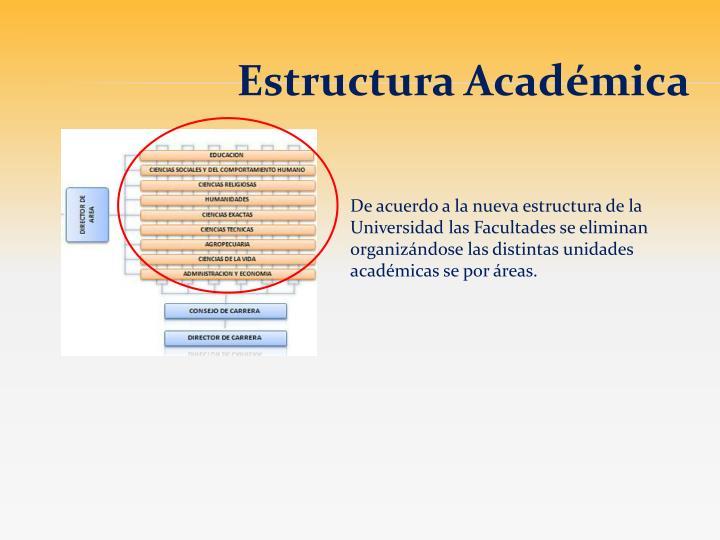 Estructura Académica