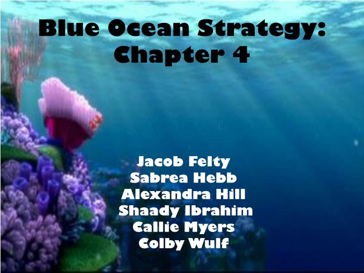 blue ocean strategy chapter 4 n.