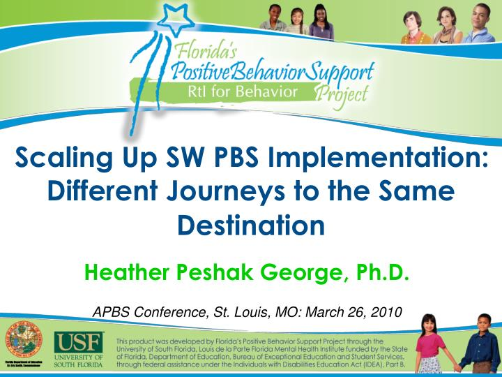 scaling up sw pbs implementation different journeys to the same destination n.