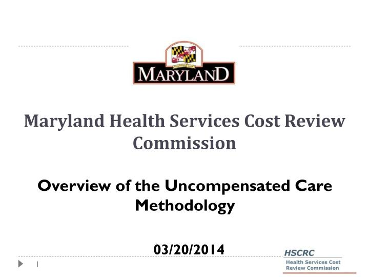 maryland health services cost review commission n.