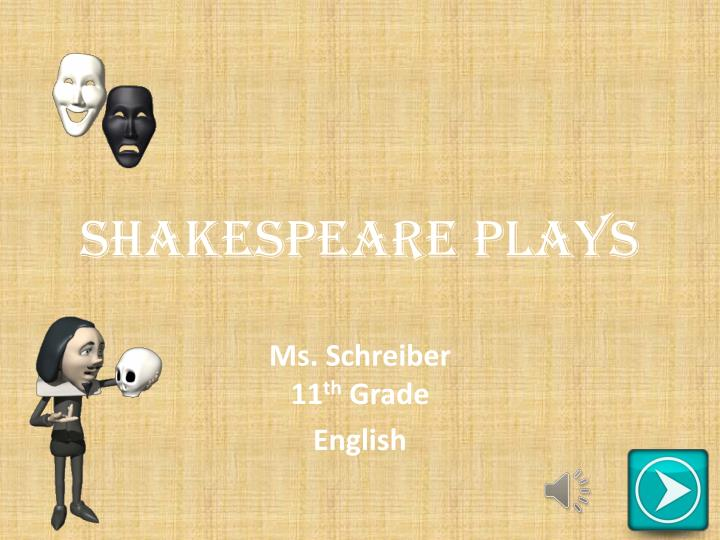 shakespeare plays n.