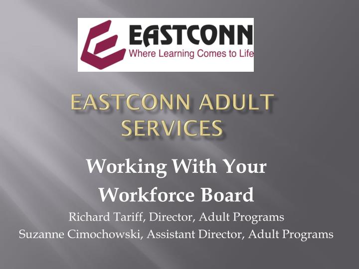 eastconn adult services n.
