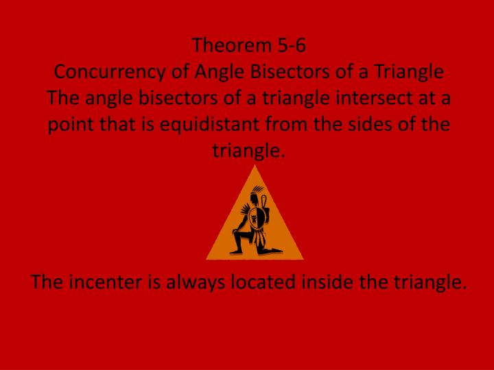 Theorem 5-6