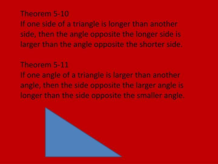 Theorem 5-10