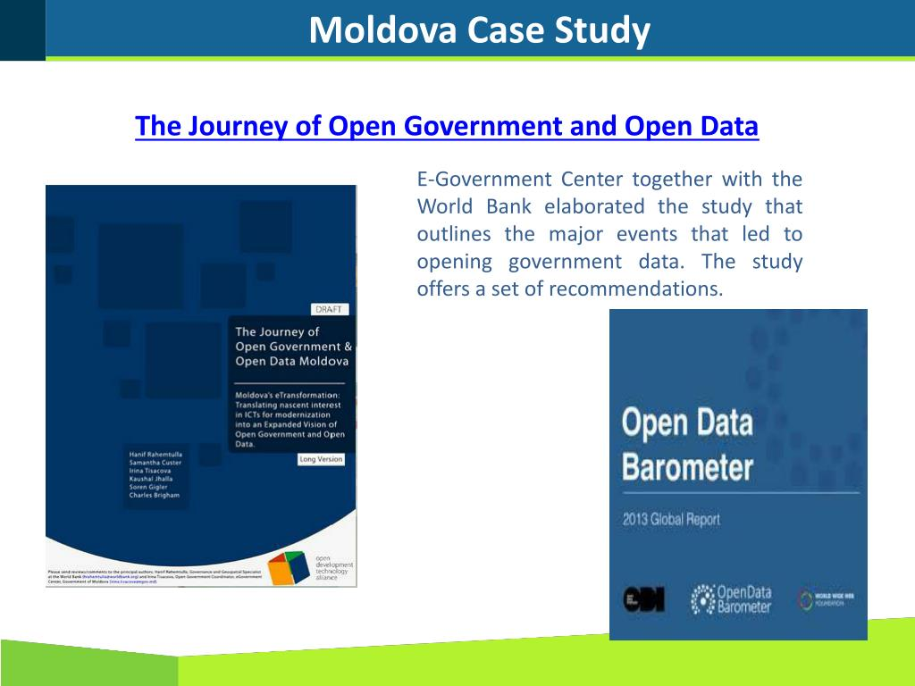 PPT - The Journey of Open Data Moldova PowerPoint Presentation - ID