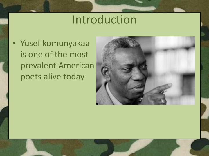 analysis of facing it by yusef komunyakaa Browse through yusef komunyakaa's poems and quotes 47 poems of yusef komunyakaa still i rise,  yusef komunyakaa poems facing it my black face fades.