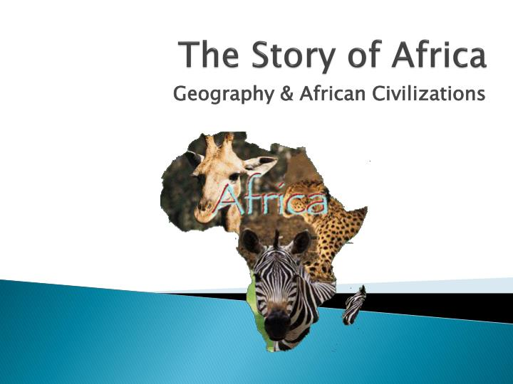 the story of africa n.