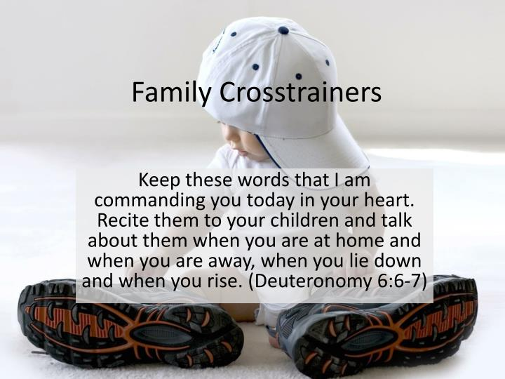 family crosstrainers n.