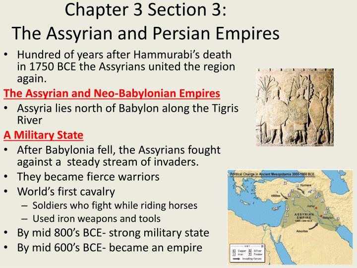 chapter 3 section 3 the assyrian and persian empires n.