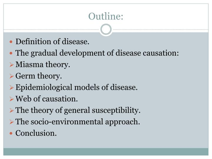 analysis of disease on the basis of health theories The chiropractic subluxation is the essential basis of chiropractic theory no supportive evidence is found for the chiropractic subluxation being associated with any disease process or of creating suboptimal health conditions requiring intervention.