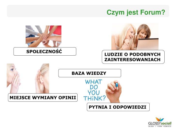Czym jest Forum?