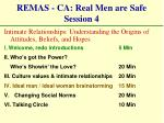 remas ca real men are safe session 4