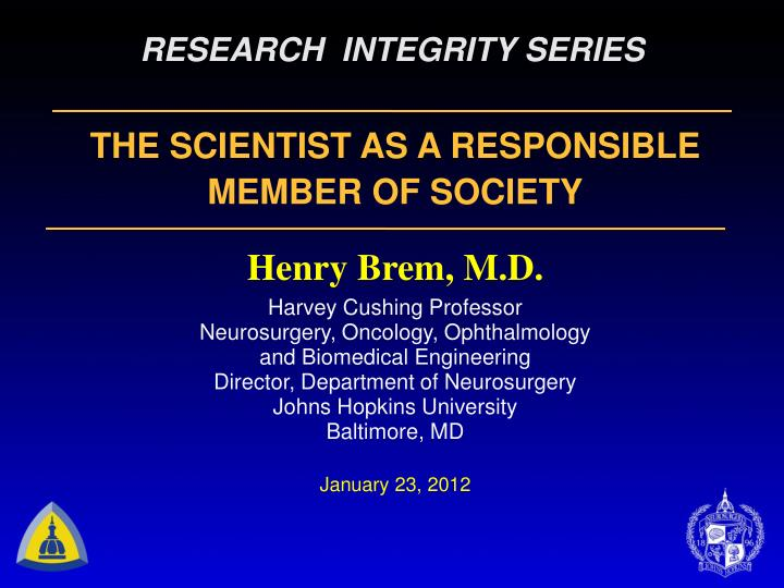research integrity series n.