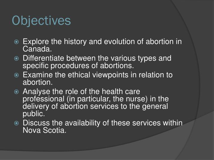 abortion analysis 5 The ethics of abortion   5 the presence of self-concepts and self-awareness warren claims that:  the category that is morally central to this analysis is the category of having a valuable future like ours it is not the category of personhood.