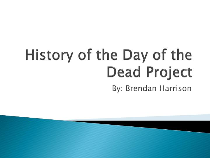 history of the day of the dead project n.