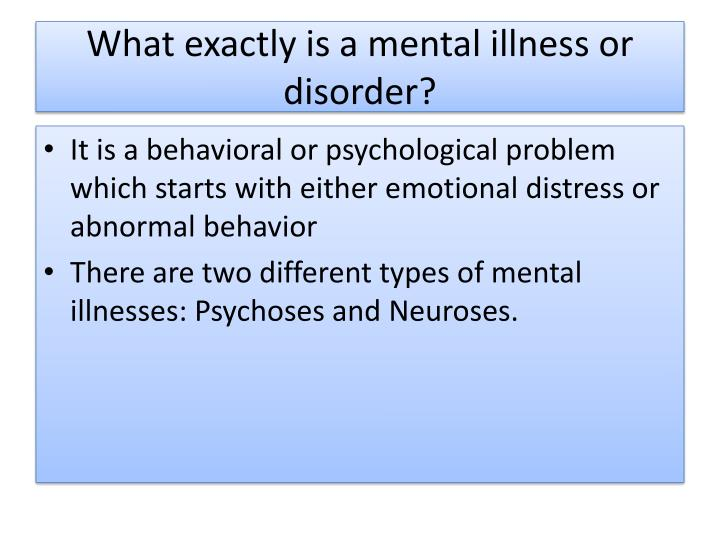 a brief analysis of mental disorders Analysis of mental health in canada - close to six million canadians live a brief analysis of mental disorders - everything related to psychology.