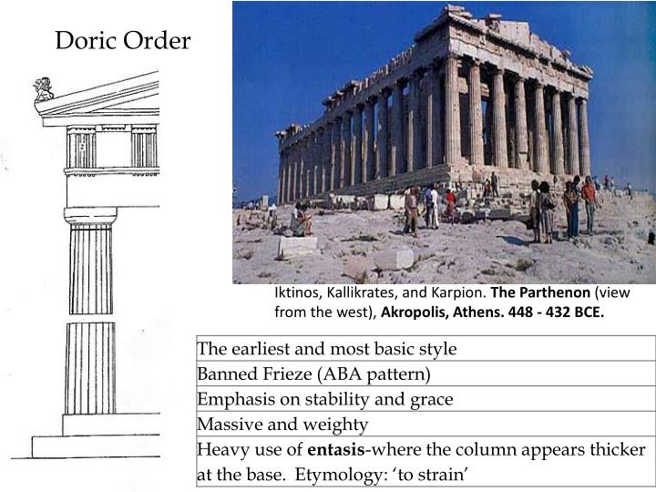 ppt ancient greece architecture and sculpture powerpoint