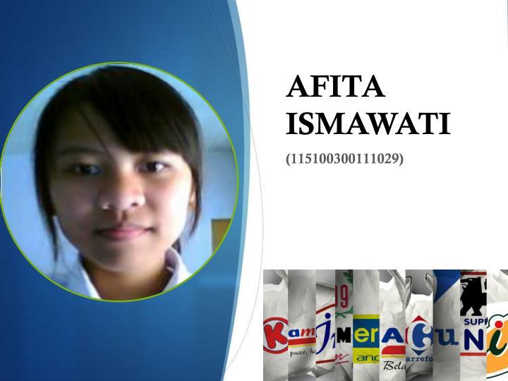 AFITA ISMAWATI