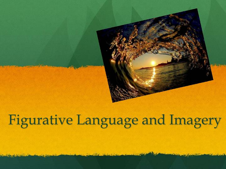 figurative language and imagery n.