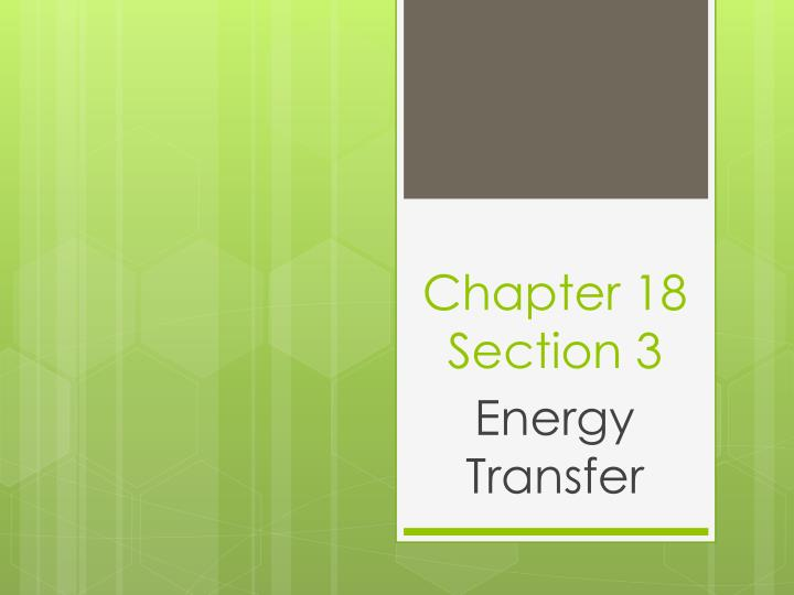 chapter 18 section 3 n.