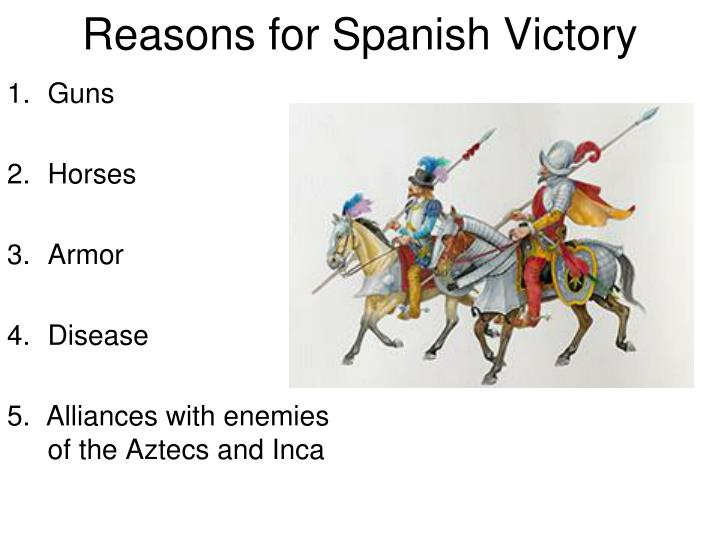 Reasons for Spanish Victory