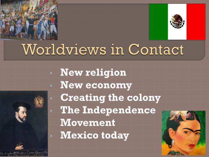 worldviews in contact n.