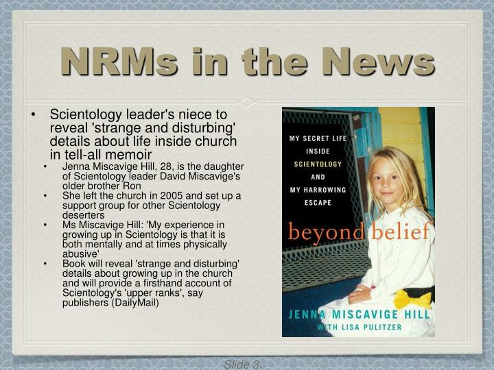 Nrms in the news