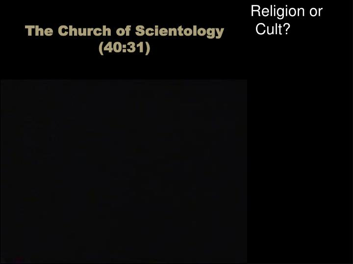 Religion or Cult?