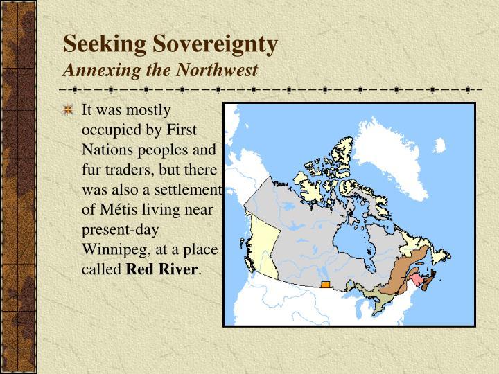 Seeking Sovereignty