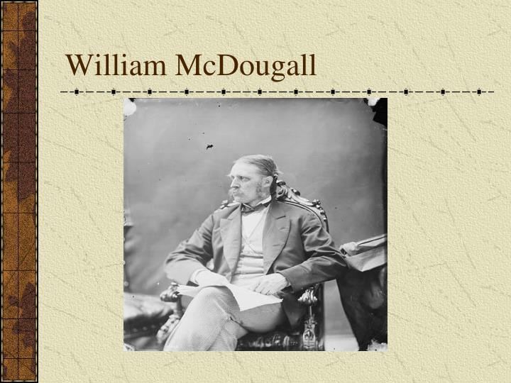 William McDougall