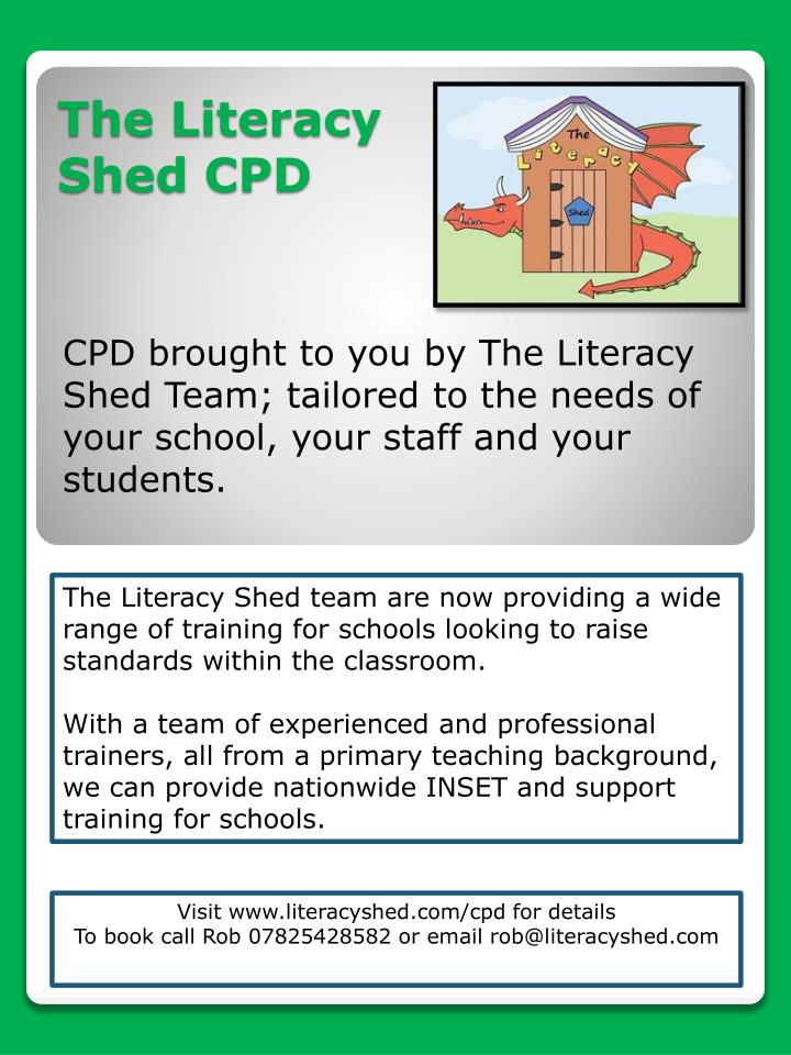 the literacy shed cpd n.