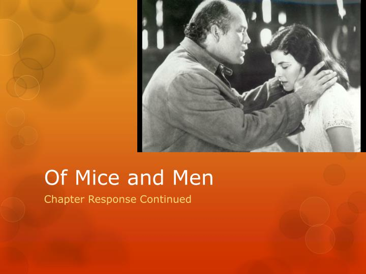 an analysis of of mice and men