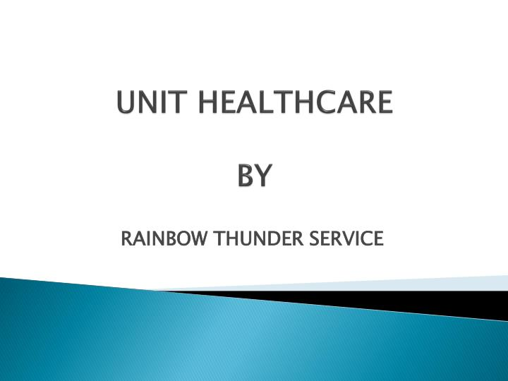 unit healthcare by n.