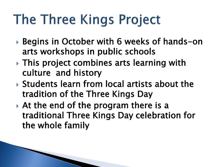 The Three Kings Project