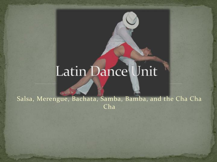 history of rumba merengue and salsa essay Salsa on the other hand evolved out of mambo and cha cha los borenquens enjoyed mambo but it was too slow and unexciting cha cha came along from puerto rico and was the rage.