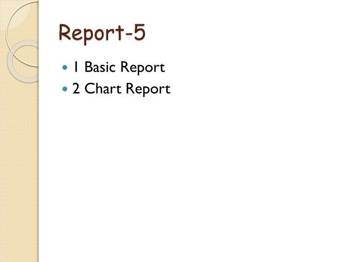 Report-5