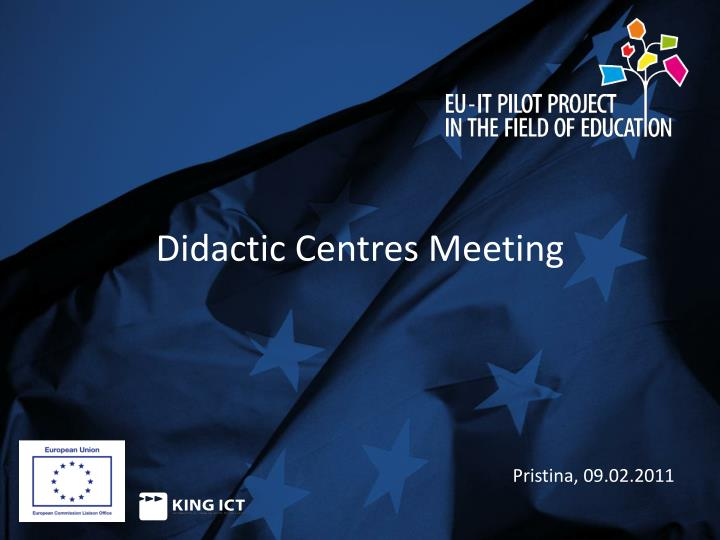 didactic centres meeting n.