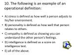 10 the following is an example of an operational definition