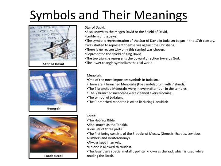 symbols and t heir meanings n.