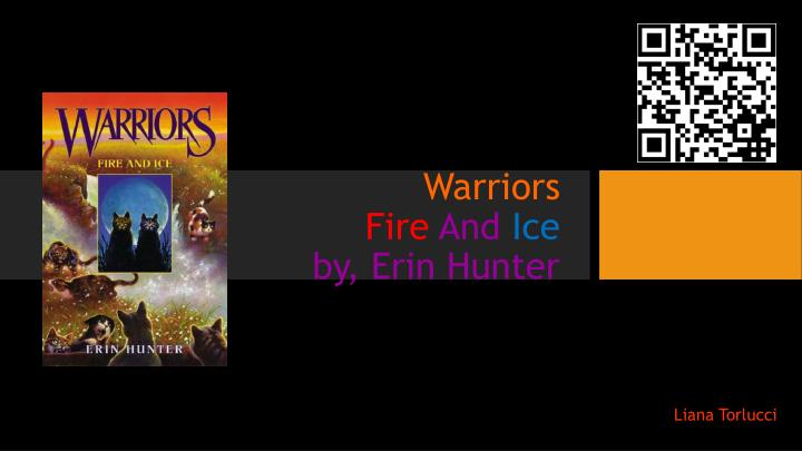warriors fire and ice by erin hunter n.