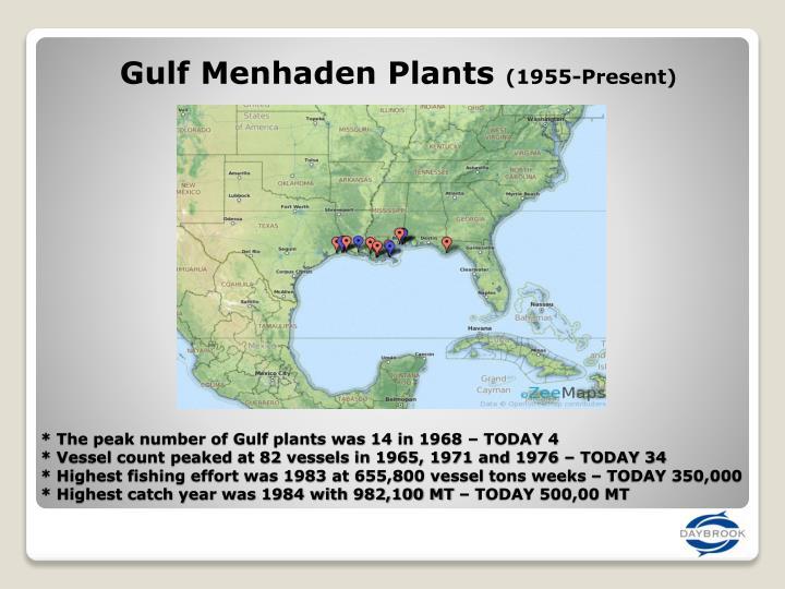 Gulf Menhaden Plants