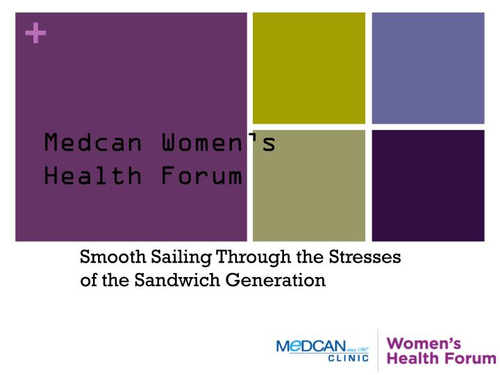 medcan women s health forum n.