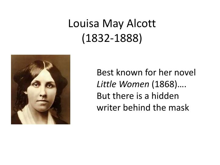 louisa may alcott thesis statement Louisa may alcott's challenges as a civil war nurse custom essay in the hospital louisa may alcott was posted at alcott's account as a civil war.