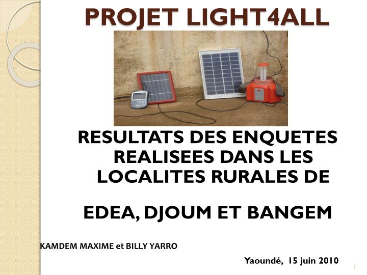 projet light4all n.