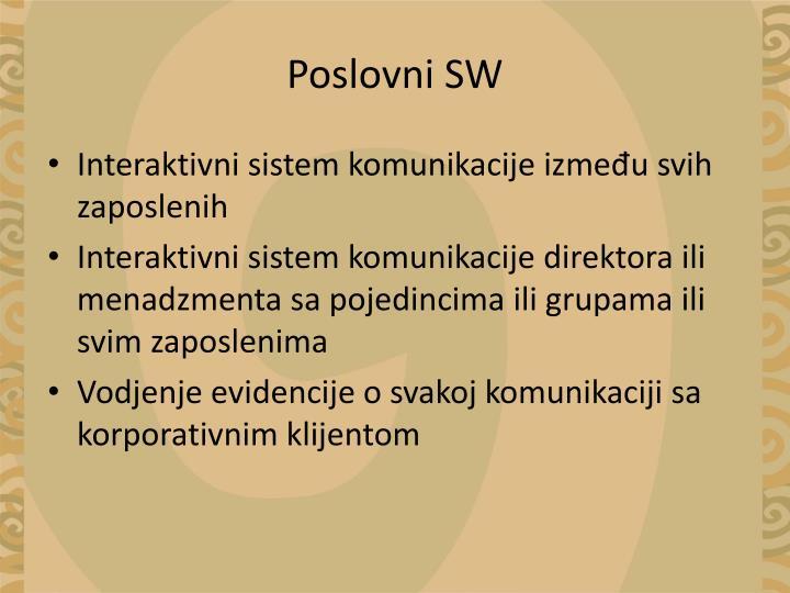 Poslovni SW